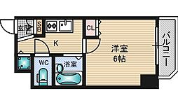 Uro新大阪[3階]の間取り