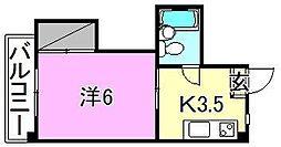 メゾン湯渡[302 号室号室]の間取り