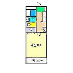 エスポアール(北久保)[2階]の間取り