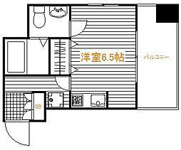 東京都足立区千住関屋町の賃貸マンションの間取り