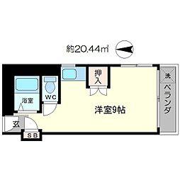 北沢江の木ビル[2階]の間取り