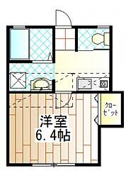 Felice中町(フェリス中町)[2階]の間取り