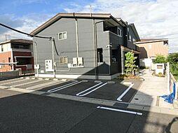 愛知県北名古屋市宇福寺天神丁目の賃貸アパートの外観