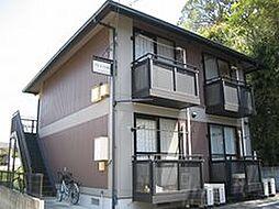 岡山県岡山市中区国富2丁目の賃貸アパートの外観