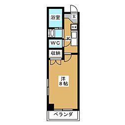 フォルグレツェン[3階]の間取り