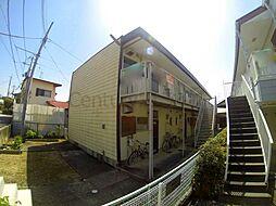 兵庫県宝塚市中筋1丁目の賃貸アパートの外観