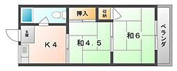 メゾン池田[3階]の間取り