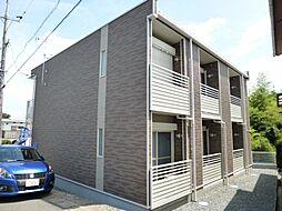 岡山県倉敷市鳥羽の賃貸アパートの外観