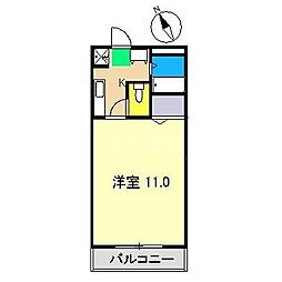 S TAGE[2階]の間取り