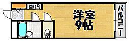 兵庫県川西市山下町2丁目の賃貸マンションの間取り