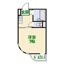 東京都葛飾区小菅4の賃貸マンションの間取り