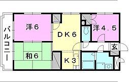 ユーミー和田[103 号室号室]の間取り