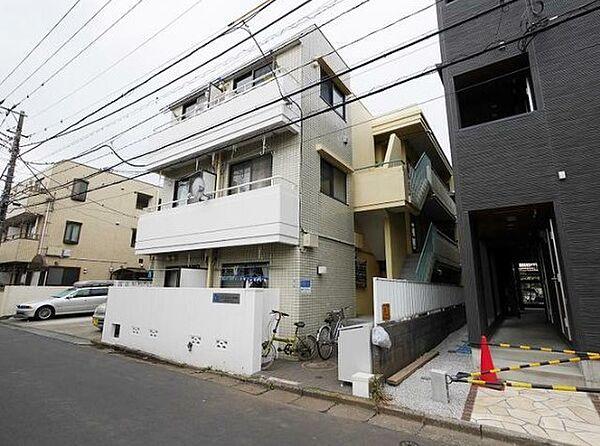 神奈川県大和市南林間2丁目の賃貸マンションの外観