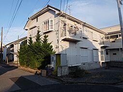 花嶋コーポB棟[1階]の外観