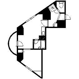 北海道札幌市中央区南二条西18丁目の賃貸マンションの間取り