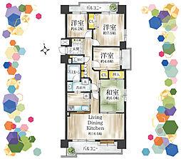 家族で暮らしやすい85平米、10階南向き角部屋につき眺望・風通し良好です。和室を洋室になどライフスタイルに合わせた間取変更、設備交換など一部リフォームのご相談もお気軽にどうぞ。