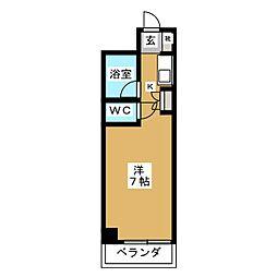 ノアーズアーク京都朱雀[11階]の間取り
