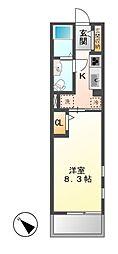 T-アルバ II[2階]の間取り