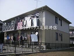 愛知県岡崎市福岡町字荒巻の賃貸アパートの外観