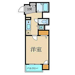 東京都文京区関口1丁目の賃貸マンションの間取り