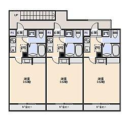 Casa Gratis[3階]の間取り