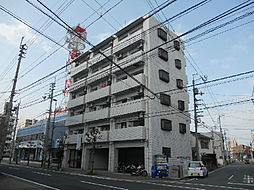 愛媛県松山市竹原町の賃貸マンションの外観