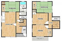 4LDK、価格1480万円、建物面積97.71平米(29.55坪)