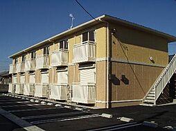 ナカイパレスB[101号室]の外観