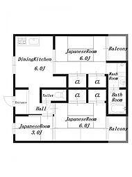 ビレッジハウス見瀬2号棟[1階]の間取り