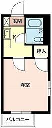 コーポ01[1階]の間取り