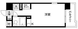 東京都大田区大森本町1の賃貸マンションの間取り