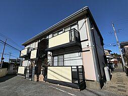 千葉県佐倉市上志津の賃貸アパートの外観