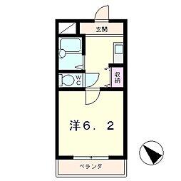 エリートNAKANO1[1階]の間取り