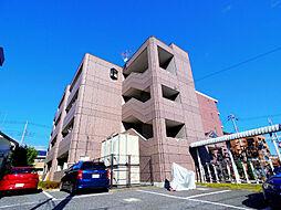 埼玉県ふじみ野市駒林元町4丁目の賃貸マンションの外観
