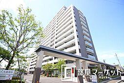 愛知県豊田市浄水町伊保原の賃貸マンションの外観
