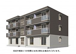 広島県福山市新涯町6丁目の賃貸アパートの外観