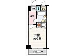 クリオ日野壱番館[3階]の間取り