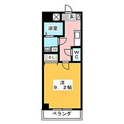 ヴィガラス永田町[4階]の間取り