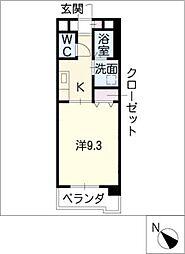 e' casa mia[3階]の間取り