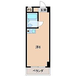 プルミエールメゾン太田[7階]の間取り