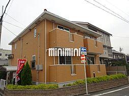 愛知県名古屋市中川区三ツ屋町1の賃貸アパートの外観