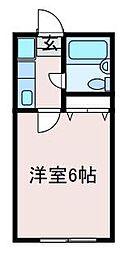 ドミールYAGI[1階]の間取り