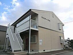 兵庫県姫路市亀山2丁目の賃貸アパートの外観