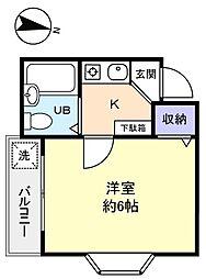 風見鶏館6[2階]の間取り