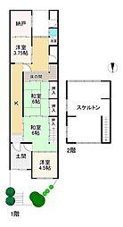 東福寺駅 3,680万円
