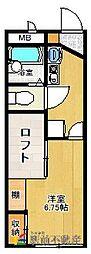 レオパレスリバティI[1階]の間取り