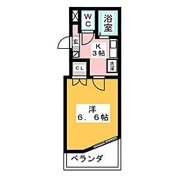 グローリアスTM[6階]の間取り