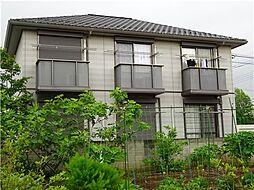 栃木県佐野市浅沼町の賃貸アパートの外観