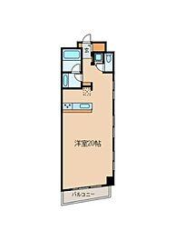 グレンパーク神楽坂[3F号室]の外観