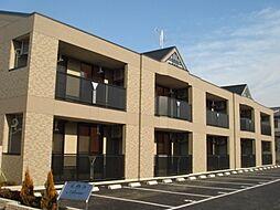 埼玉県久喜市外野の賃貸アパートの外観